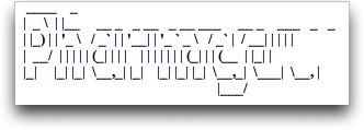 Garbled ASCII art for the word Pharmacy