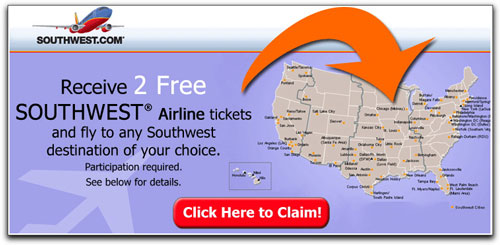 free airline ticket offer
